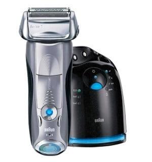 Braun Series 7 790cc - best electric shaver for sensitive skin