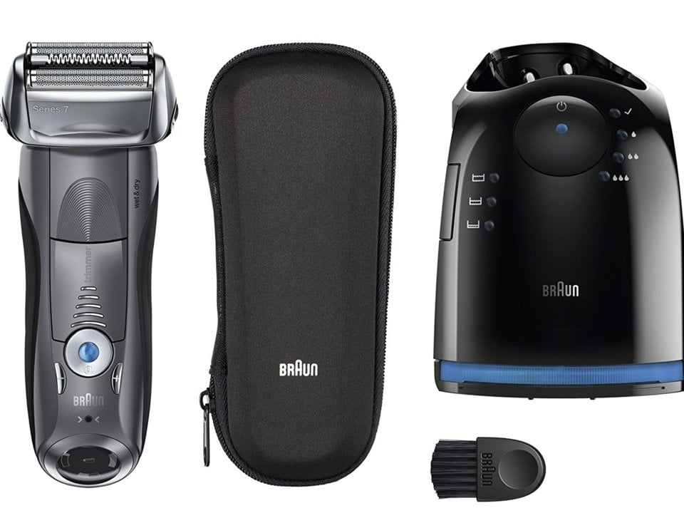 Braun Series 7 790cc-4 Pulsonic Shaver System | Best Electric Shaver For Sensitive Skin