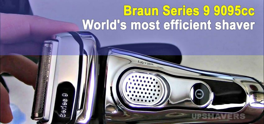 Braun Series 9 9095cc Review – Top Rated Electric Shaver