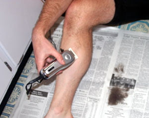 How to shave your legs with an electric shaver