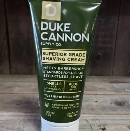 Duke Cannon Shaving Cream For Head