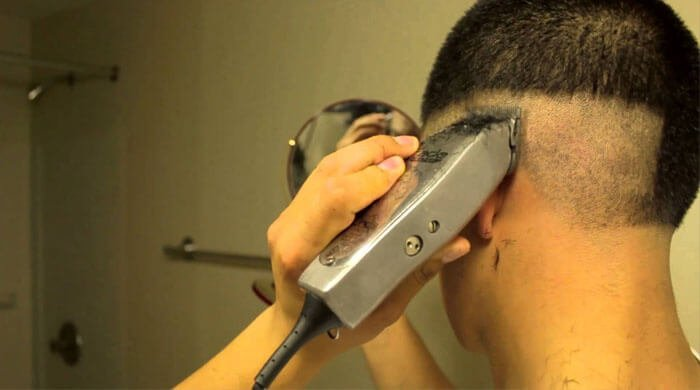 what is the best way to shave your head with an electric shaver