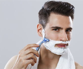 use shaving cream for your sensitive skin