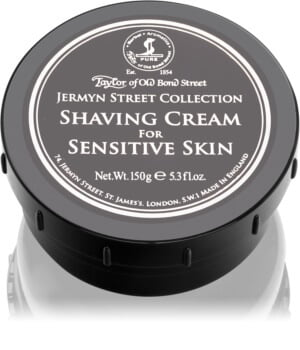 Taylor of Old Bond Street Jermyn Street Luxury Shaving Cream for Sensitive Skin